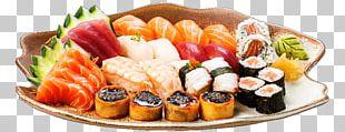 Sushiman Sashimi California Roll Smoked Salmon PNG