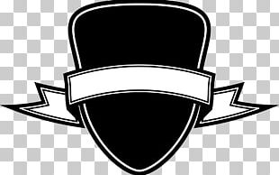 Ribbon Black PNG