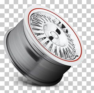 Custom Wheel Whitewall Tire Rim PNG