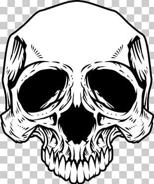 T-shirt Skull Logo PNG