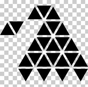 Polygon Shape Penrose Triangle Geometry PNG