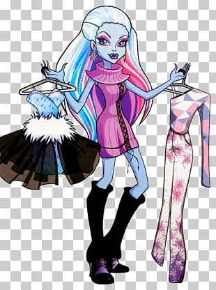 Cleo DeNile Monster High Frankie Stein Doll Fashion PNG