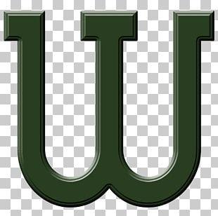 Letter Case Digital Scrapbooking Green Font PNG