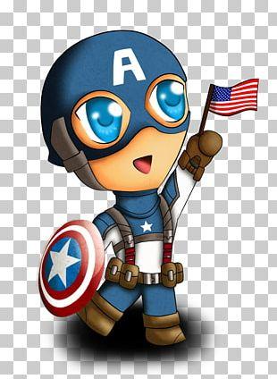 Captain America Iron Man Carol Danvers Thor Chibi PNG