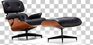 Eames Lounge Chair Foot Rests Glider Swivel Chair PNG