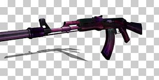 Ranged Weapon Firearm Assault Rifle PNG