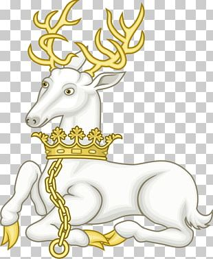 Richard II White Hart White Stag Royal Badges Of England PNG