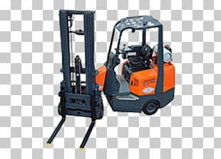 Forklift Machine Liquefied Petroleum Gas Material Handling Conveyor System PNG