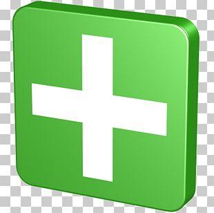 Symbol Green Font PNG