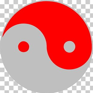 Yin And Yang Red PNG