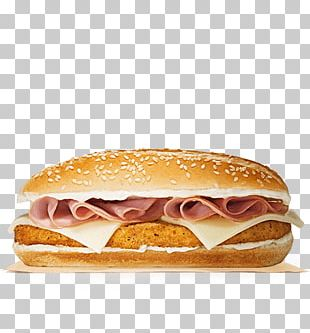 Cheeseburger Breakfast Sandwich Whopper Fast Food Ham And Cheese Sandwich PNG
