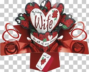 Valentine's Day Greeting & Note Cards Pop-up Book Wife PNG