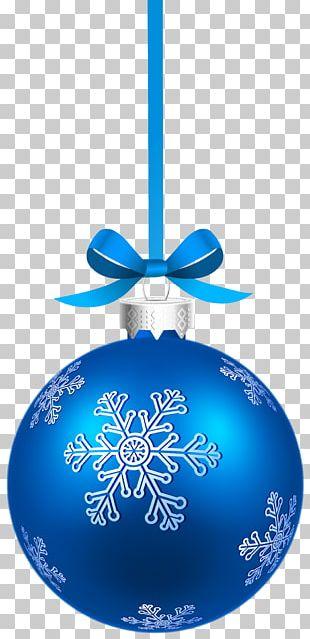 Christmas Ornament Christmas Decoration Blue Christmas PNG