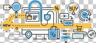 Digital Marketing Online Shopping E-commerce Business Process Internet PNG