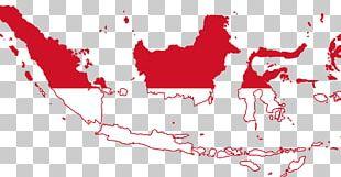 Flag Of Indonesia Map Pembela Tanah Air PNG