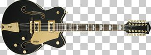 Twelve-string Guitar Gretsch String Instruments Bigsby Vibrato Tailpiece PNG