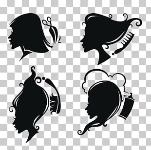 Comb Beauty Parlour Hairdresser Silhouette PNG
