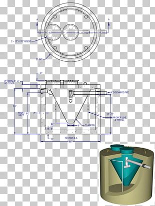 Sewage Treatment Septic Tank Diagram System Engineering PNG