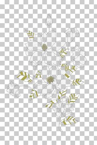 Floral Design White Flower PNG