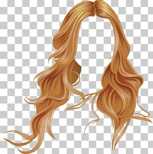 Long Hair Wig Stardoll Hair Coloring Blond PNG