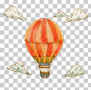 Airplane Hot Air Balloon Euclidean PNG