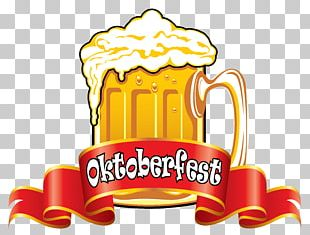 Oktoberfest Beer Glassware PNG