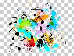 Music Symbol Graffiti PNG