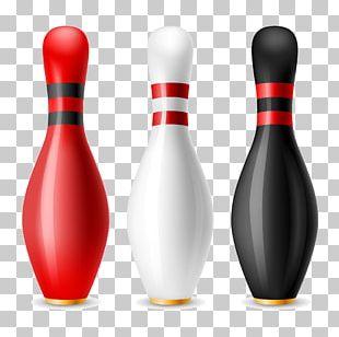 Bowling Pin Ten-pin Bowling Ball PNG