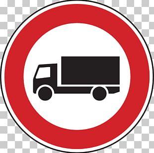 Traffic Sign LKW-Durchfahrtsverbot Truck Car Motor Vehicle PNG