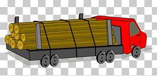 Car Logging Truck PNG
