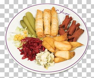 French Fries Spring Roll Dish Meze Recipe PNG