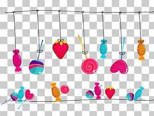 Lollipop Candy Cane Illustration PNG