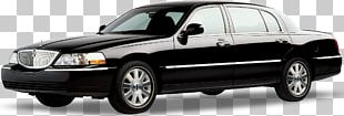 Lincoln Town Car Luxury Vehicle Cadillac Escalade PNG