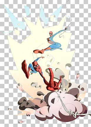 Spider-Man May Parker Cartoon Illustration PNG