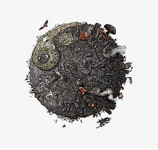 Black Earth PNG