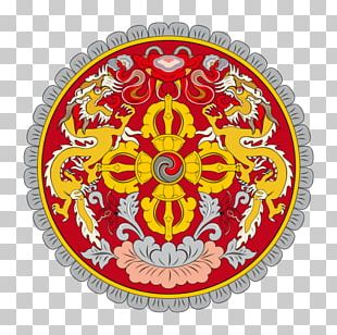 Emblem Of Bhutan National Symbols Of Bhutan Flag Of Bhutan National Emblem PNG