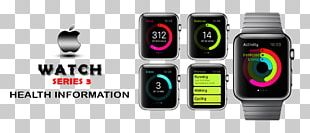 Apple Watch Series 3 Activity Tracker PNG