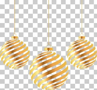 Christmas Gold PNG