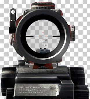 Advanced Combat Optical Gunsight Telescopic Sight Reflector Sight Call Of Duty: Modern Warfare 2 PNG