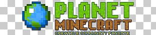 Planet Minecraft Logo PNG