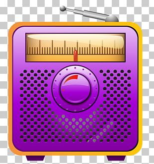 Radio Television Illustration PNG