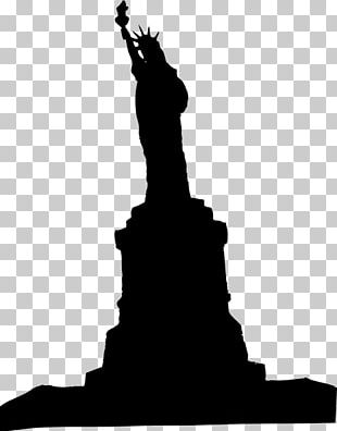 Statue Of Liberty Silhouette PNG