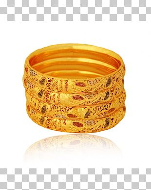 Bangle Earring Gold Plating Jewellery PNG