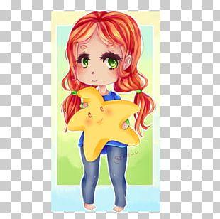Mangaka Brown Hair Figurine Anime PNG
