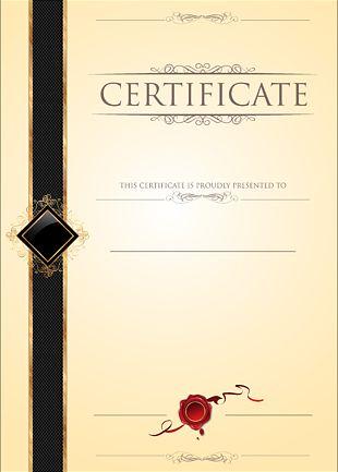 Academic Certificate Template Diploma PNG