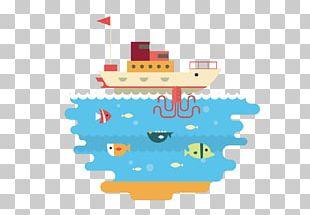 Cartoon Sea Illustration PNG