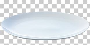 Empty Plate Flat PNG