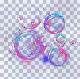 Plastic Circle Purple PNG