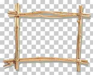 Wood Branch Frame PNG
