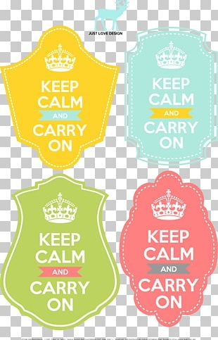 Keep Calm And Carry On T-shirt Poster Printing PNG